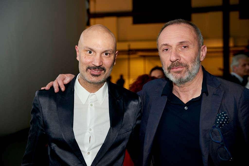Faram art director Egidio Panzera and Faram AD Massimiliano Giacomelli