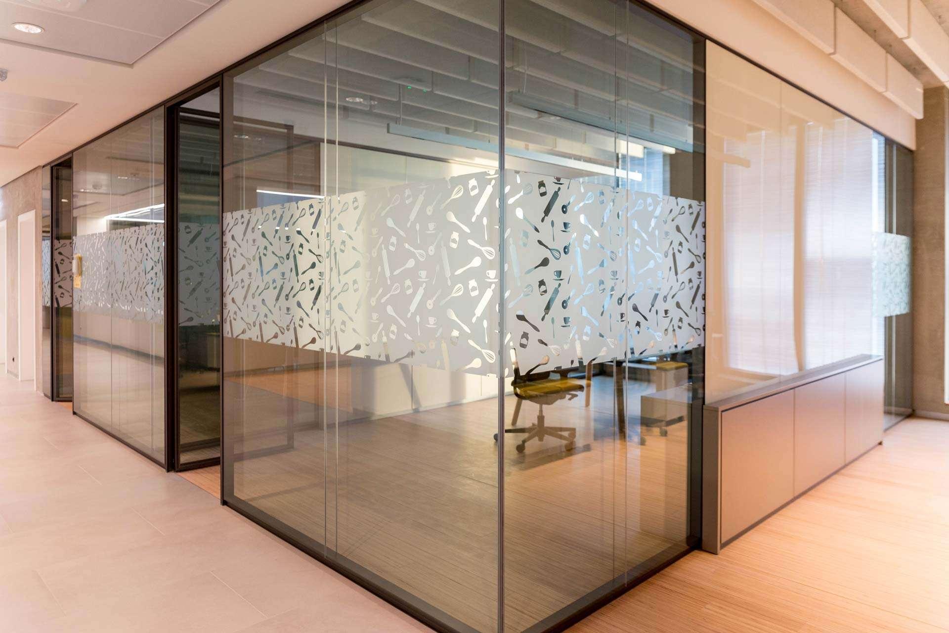 pareti vetrate P900