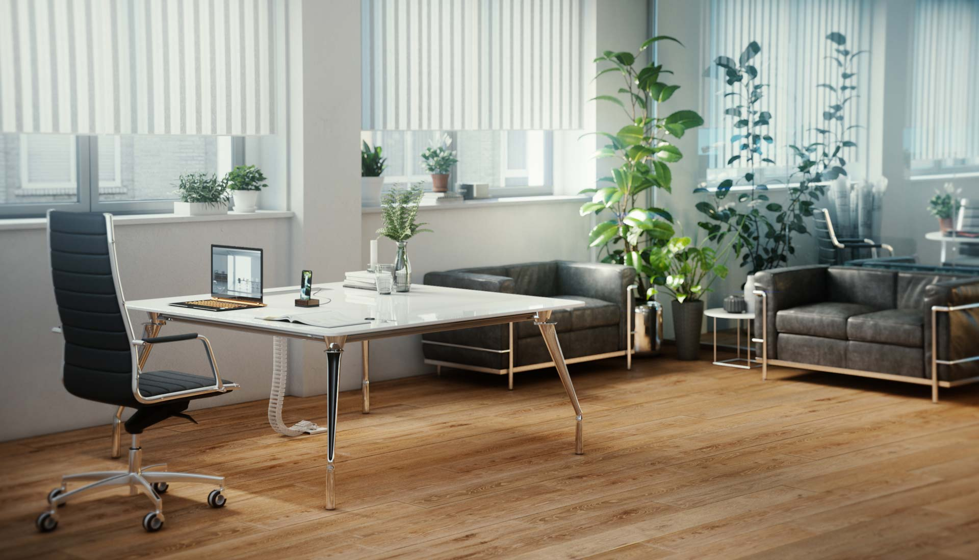 Dinamico office furniture system executive office