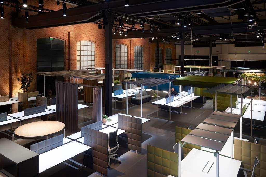 Bahlara office furnishing system