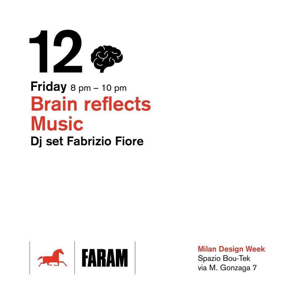 invito ad evento Faram presso Spazio Bou-Tek