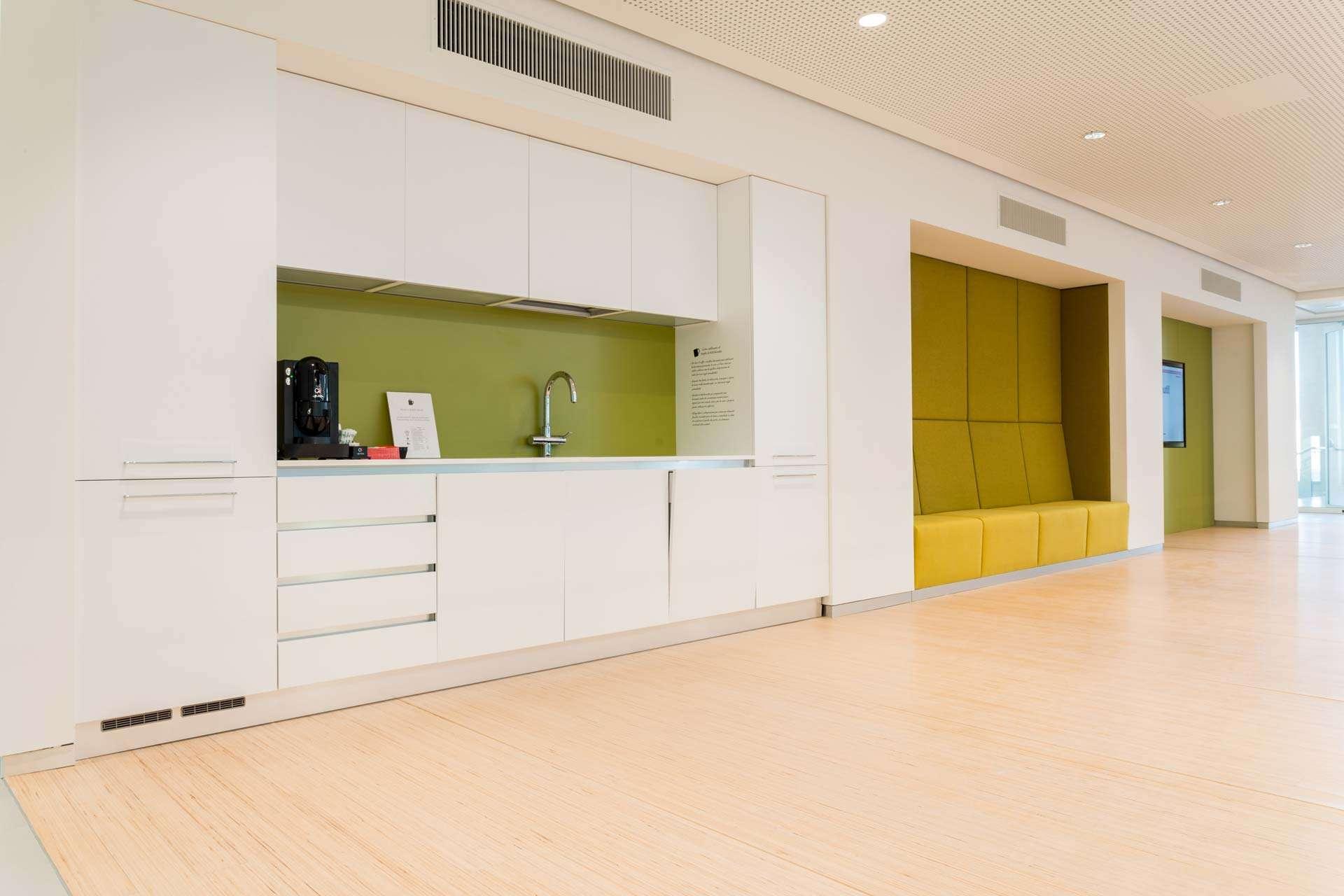 kitchen in Cameo interior