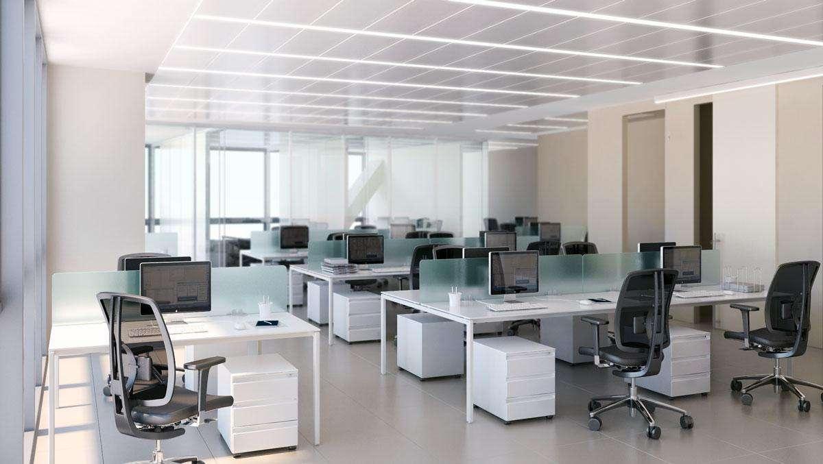 scrivanie operative del sistema d'arredo per ufficio Cartesio