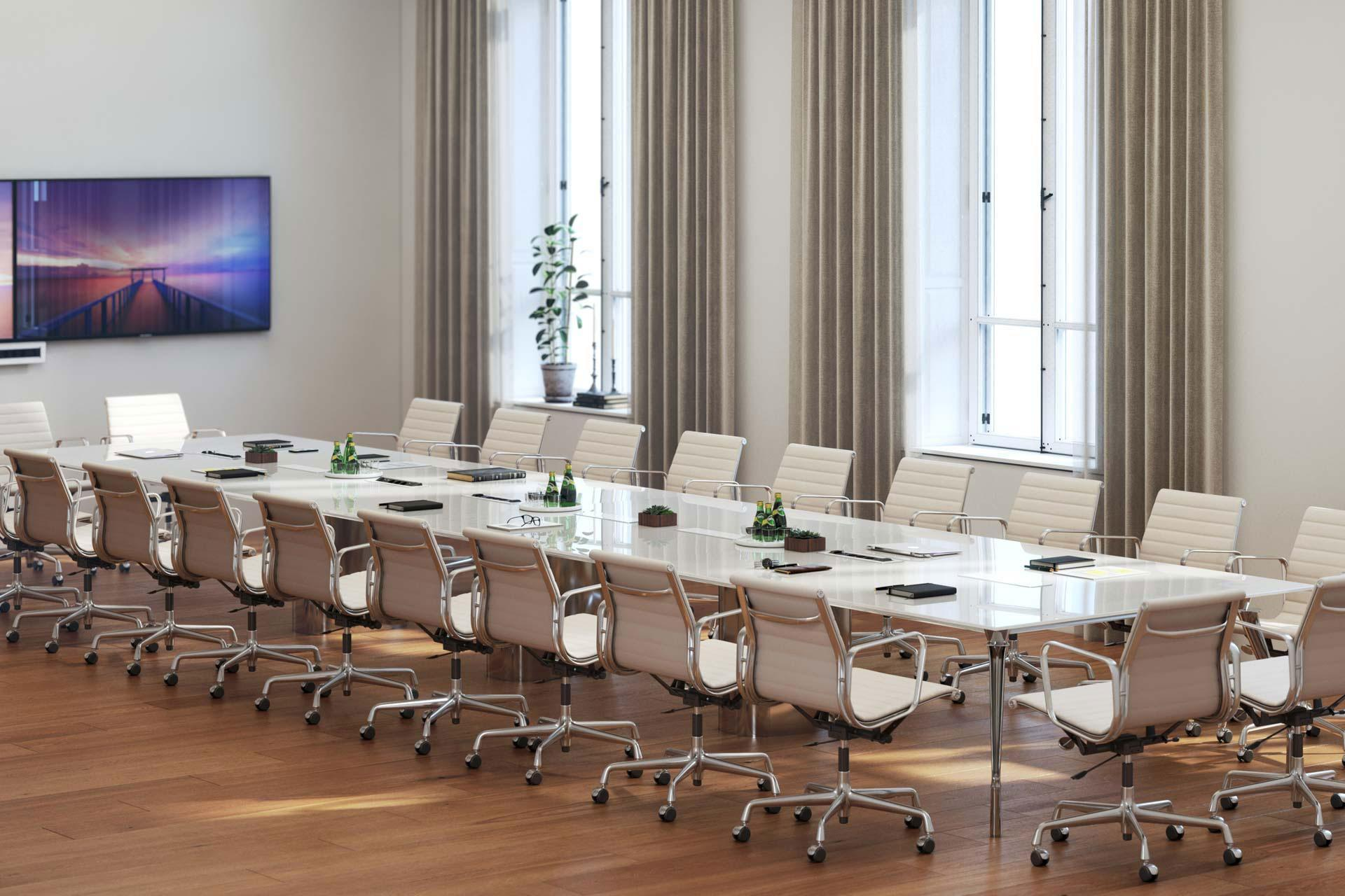 Dinamico meeting table