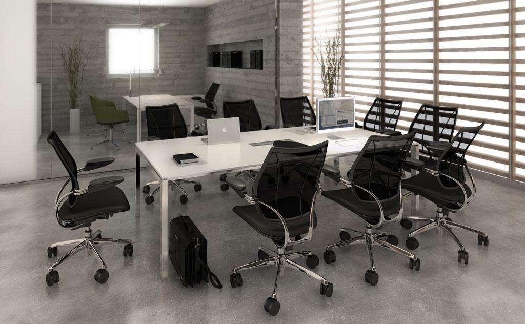 tavolo meeting del sistema d'arredo per ufficio Cartesio